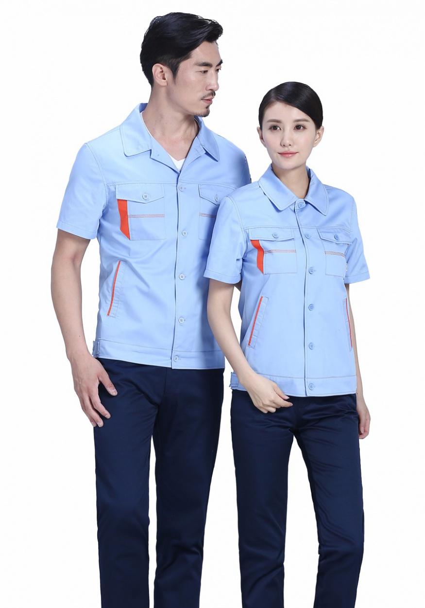 浅蓝+深裤