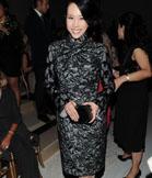 莫文蔚蕾丝旗袍豪华非常